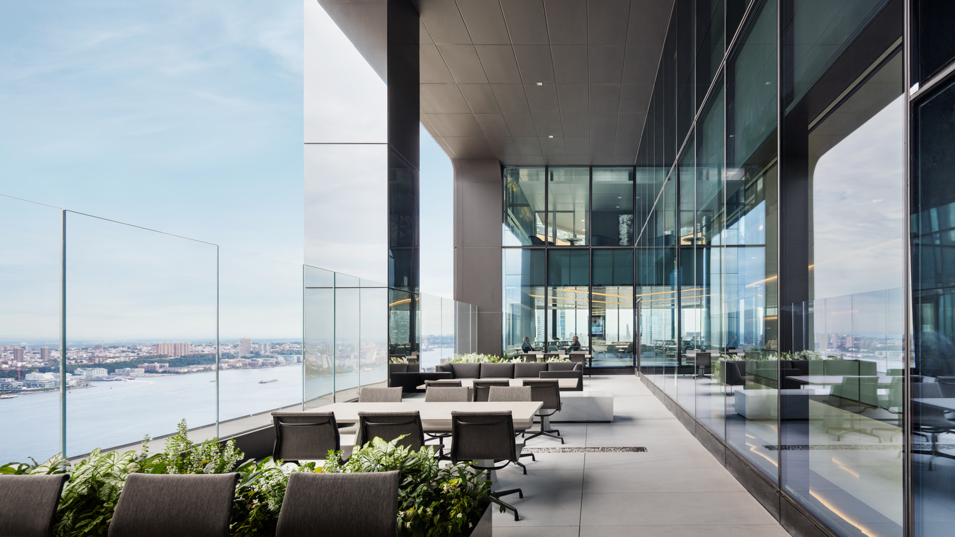 55 Hudson Yards terrace